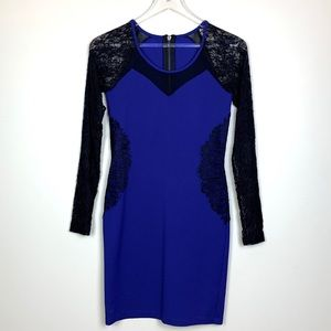 BUFFALO David Bitton Lace Long Sleeve Dress